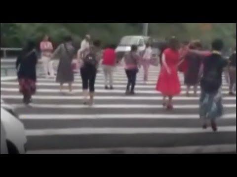 chinese dama turn motorway