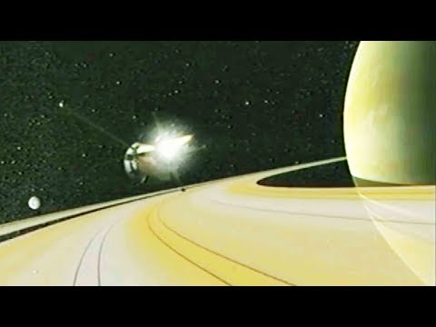 only spacecraft to ever orbit saturn set