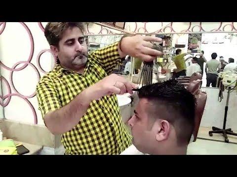 barber's unique haircuts require
