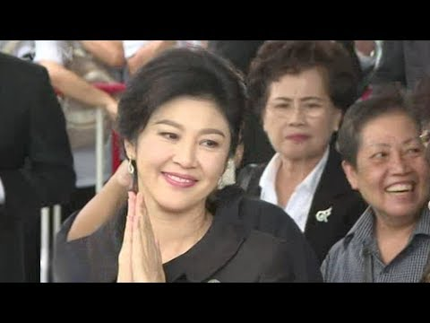 yingluck shinawatra is in dubai