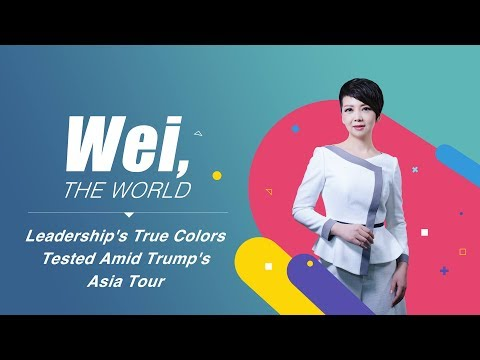 leaderships true colors tested amid trumps asia tour