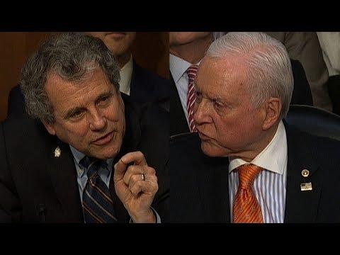 senators get into shouting match