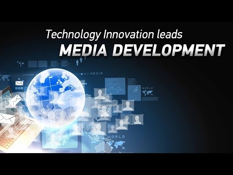technology innovation leads media development