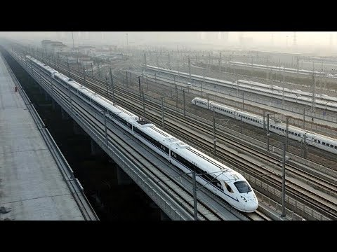 china's new highspeed railway shortens