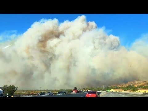 deadly wildfire sweeps