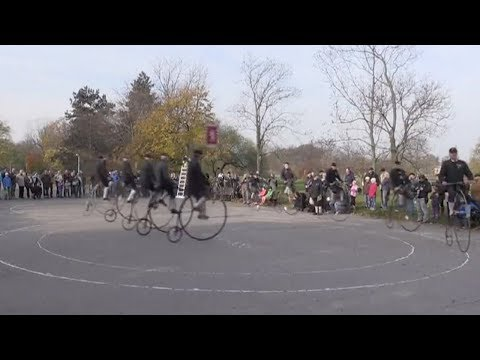czech penny farthing riders gather
