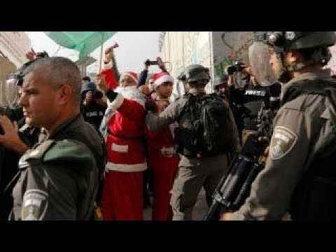 protests put damper on christmas